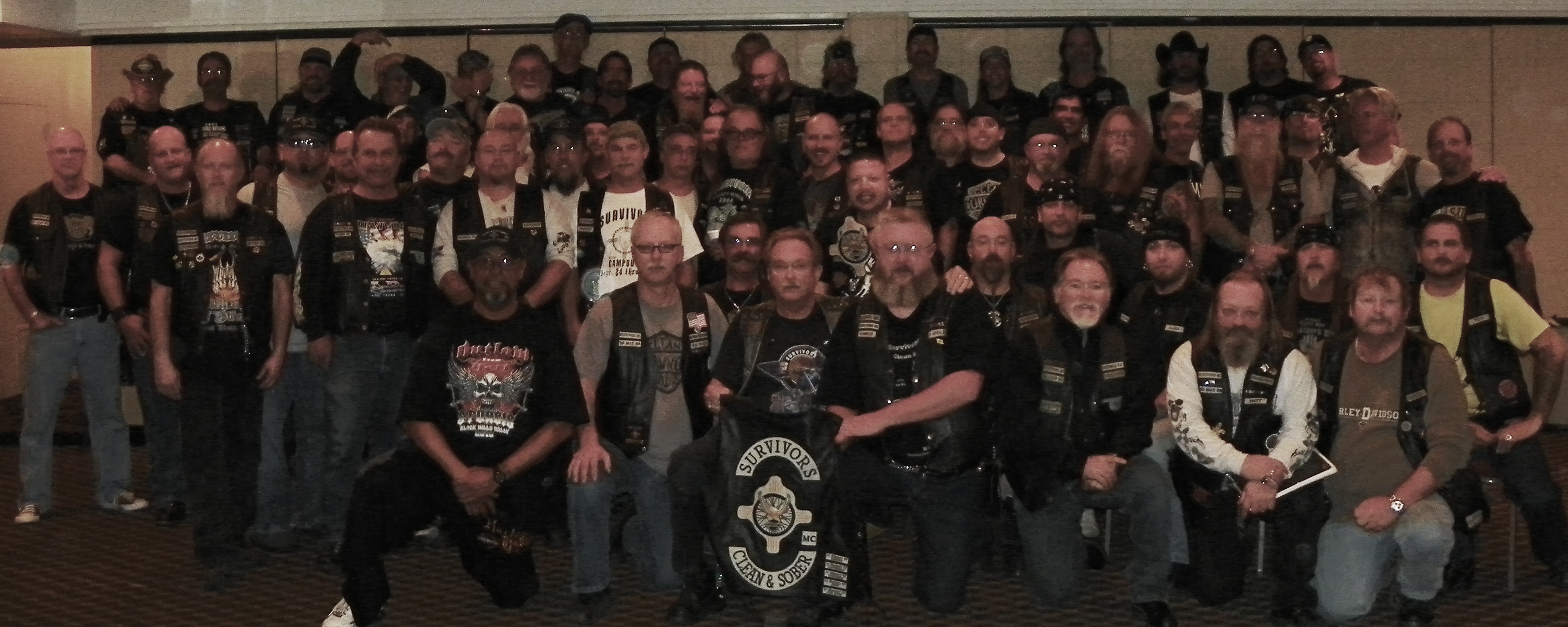 The Survivors is a brotherhood of Clean & Sober bikers